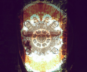 hippie, window, and bed image
