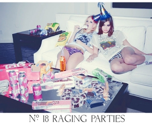 party, girl, and wildfox image