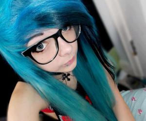 alternative, beautiful, and dyed hair image