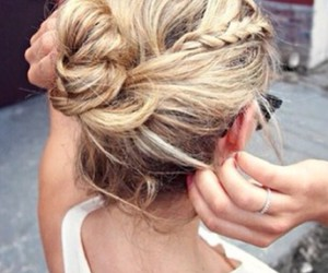 beautiful, blond, and bow image