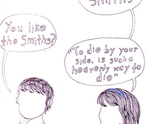 500 Days of Summer and the smiths image
