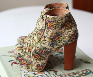shoes, heels, and vintage image