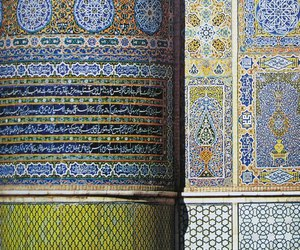 geometry, patterns, and islam image