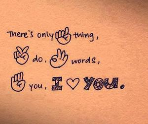 love, I Love You, and quote image