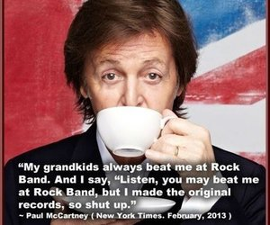 Paul McCartney, funny, and quotes image