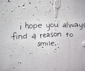 smile, quotes, and hope image
