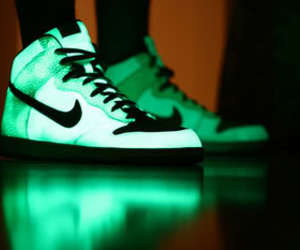 nike, shoes, and glow image
