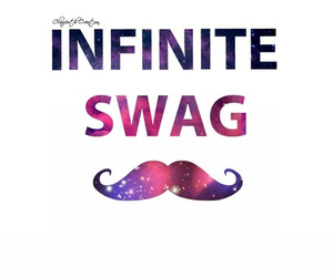 swag, infinite, and galaxy image