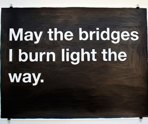 light, painting, and text image