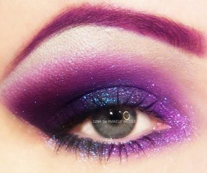 colorful, eye makeup, and eye shadow image