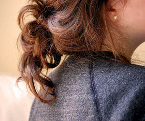 fashion, hair, and knot image