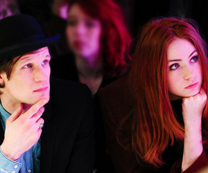 matt smith and karen gillan image
