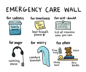 emergency, care, and music image