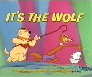 cartoon, old, and wolf image