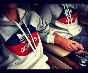 adidas, love, and couple image
