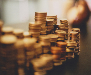 coin, money, and gold image