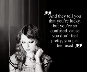 Taylor Swift, girl, and quote image
