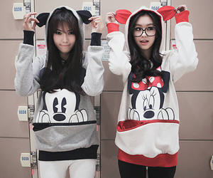 mickey, minnie, and mickey mouse image