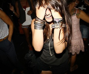 party and girl image