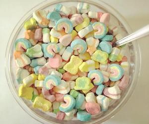 cereals, food, and lucky charms image