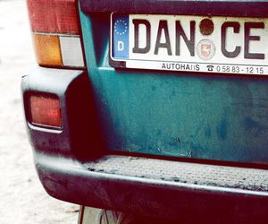 car, dance, and love image