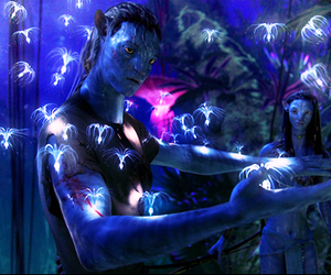avatar, blue, and lady image