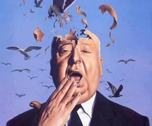 bird and alfred hitchcock image