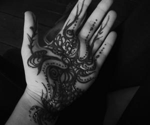 henna, coconoir, and art image