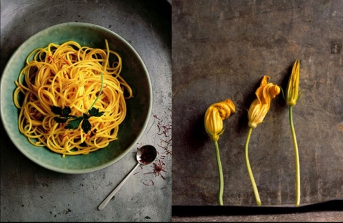 color, food, and noodles image