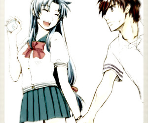 anime, couple, and kaname image