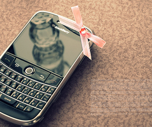 blackberry, phone, and pink image