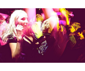 blonde, party, and effect image