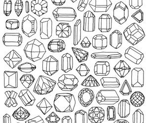 diamond, background, and gems image