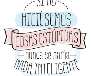 cosas, inteligente, and frases image