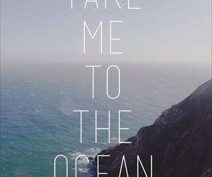 ocean, quotes, and summer image