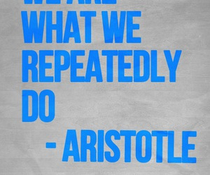 quote, aristotle, and motivation image