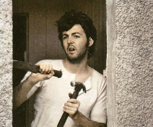 Paul McCartney, wings, and mcbeardy image