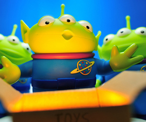toy story, cute, and alien image