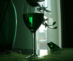 absinthe, alcool, and green image