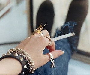 legs, ring, and smoke image