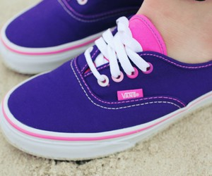 fashion, vans, and colors image