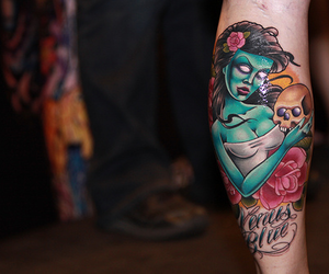 tattoo and zombie image