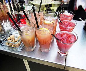 drink, orange, and party image