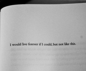 forever, quote, and live image