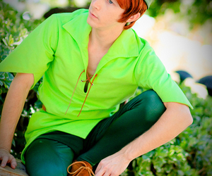 peter pan, disney, and disneyland image
