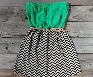 dress and green image