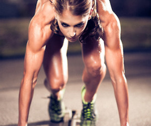 fitness, motivation, and muscles image