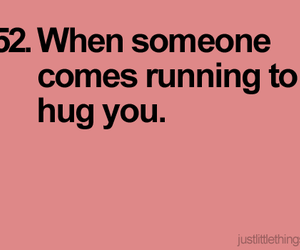hug, quote, and running image