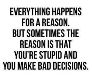 quotes, stupid, and reason image