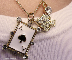 necklace, spade, and colar image